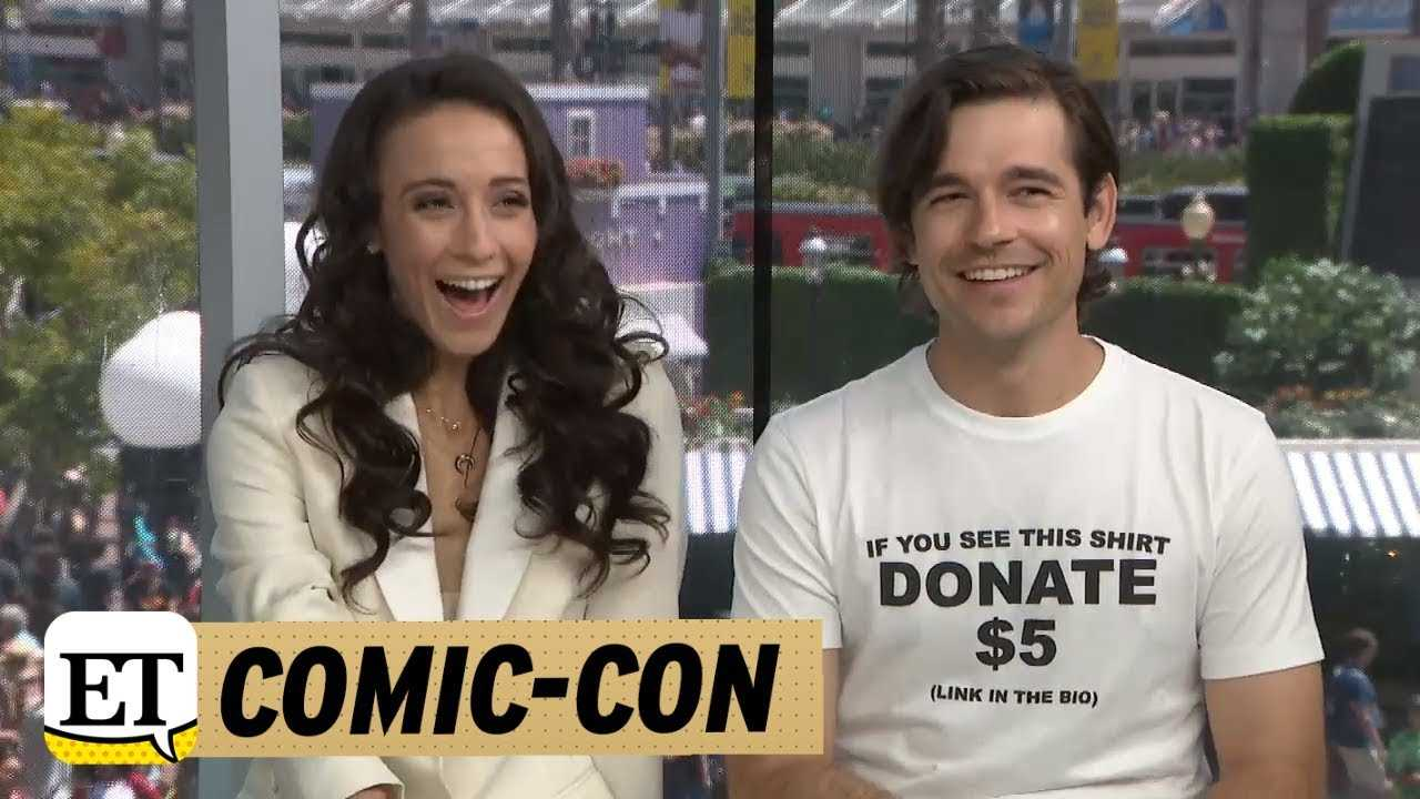 Comic-Con 2018: The Magicians: Jason Ralph & Stella Maeve Think There Should Be More Magic