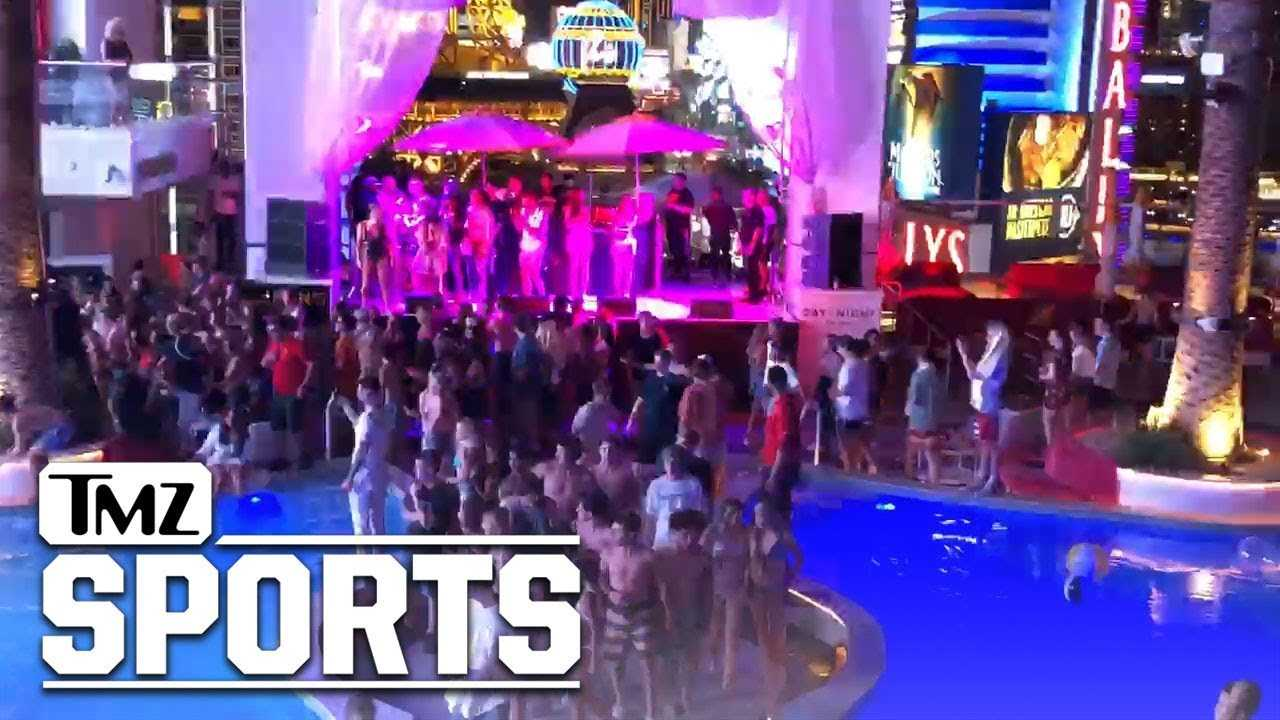 Dana White Throw's EPIC Sweet 16 For His Son Aidan | TMZ Sports