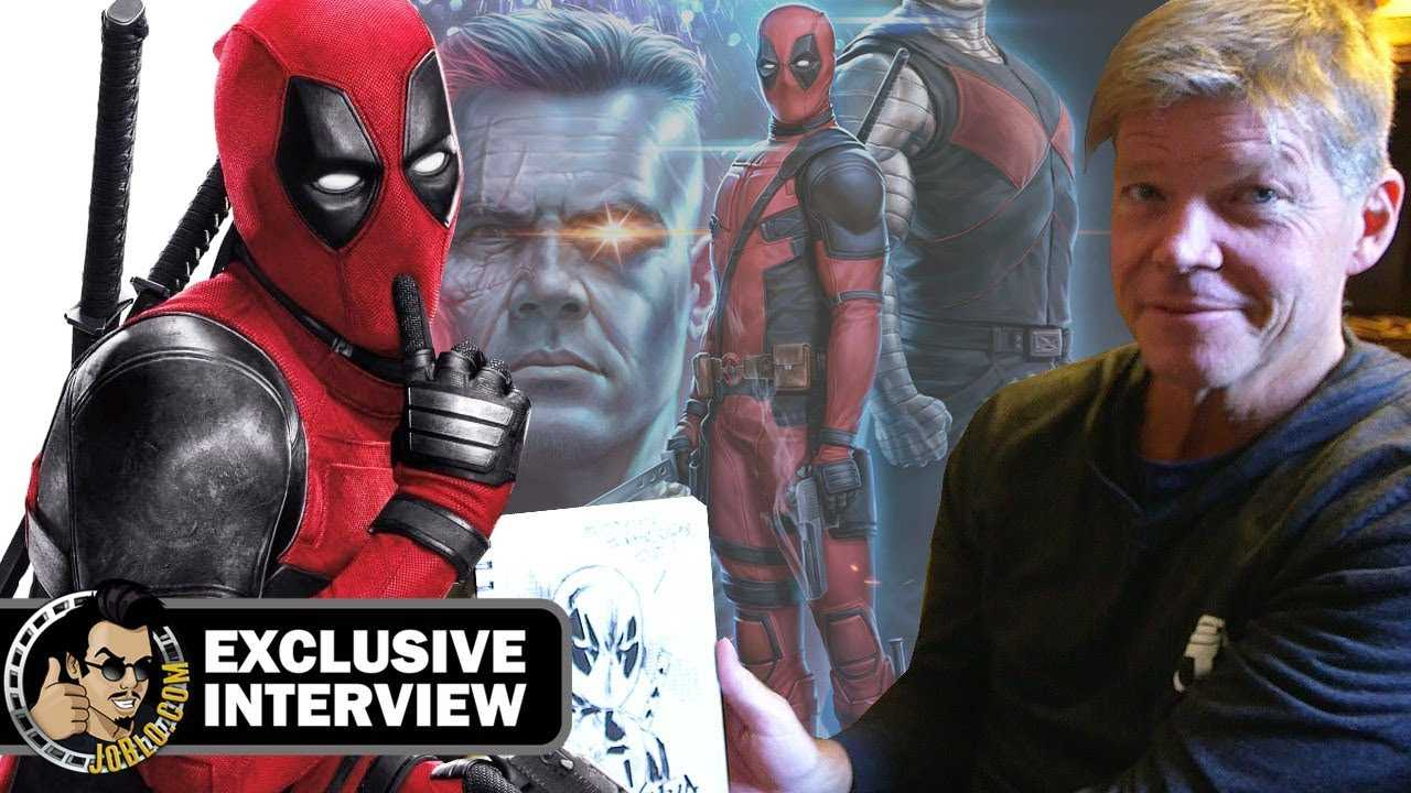 DEADPOOL 2 Sketch Interview w/ Creator Rob Liefeld (Comic Con 2018)