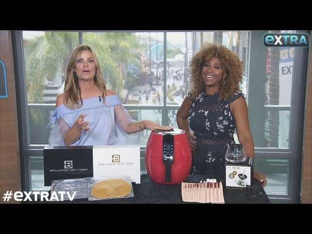 'Extra's' Pop-Up Shop: Face Masks, Air Fryers, and Makeup Brush Sets
