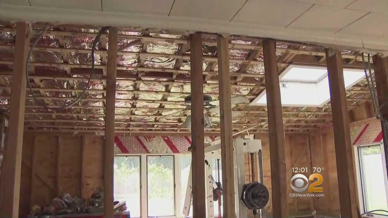 FEMA Surveys Flood Damage In Little Falls, New Jersey