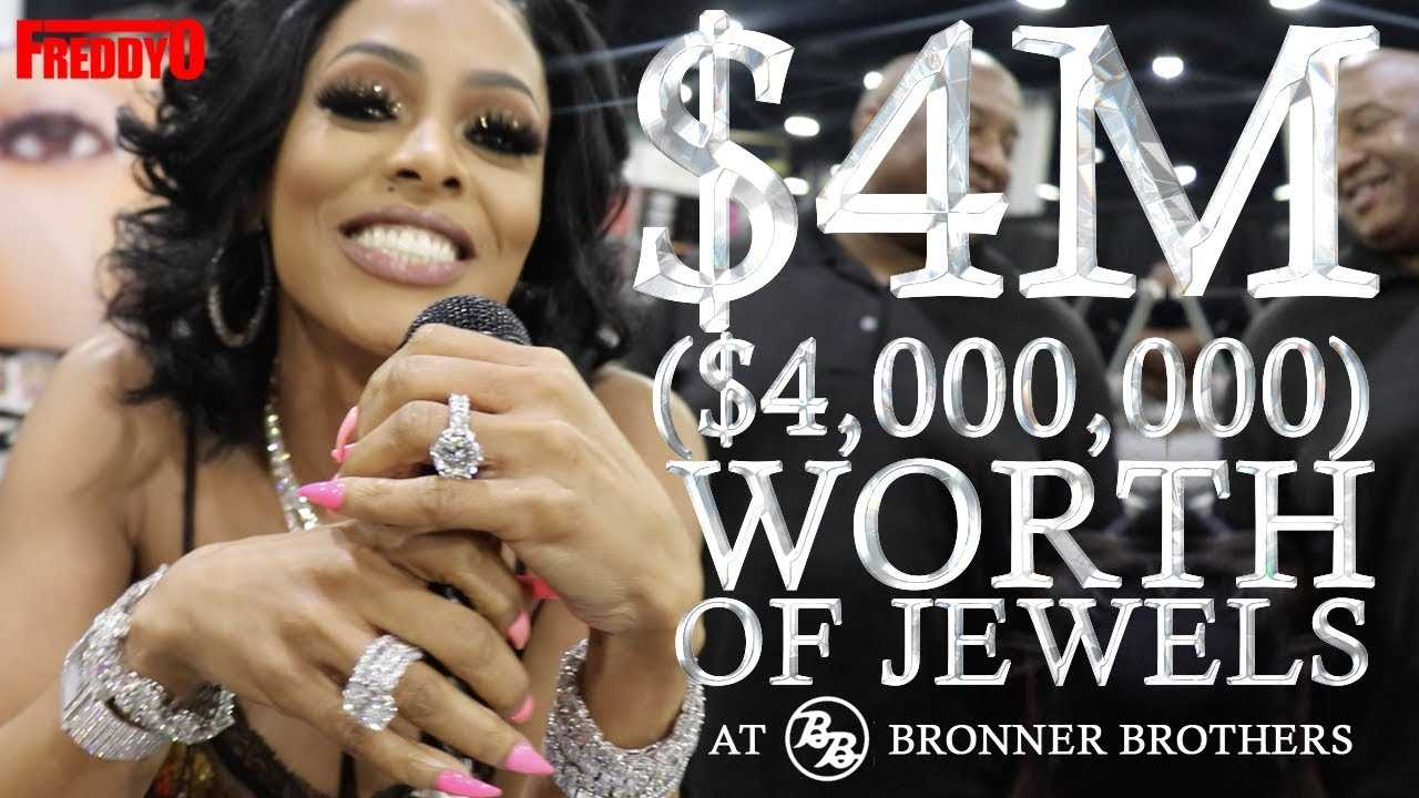 Gucci Manes Wife Keyshia Ka'oir Shows $4 Million Dollars Worth of Diamonds at Hair Show