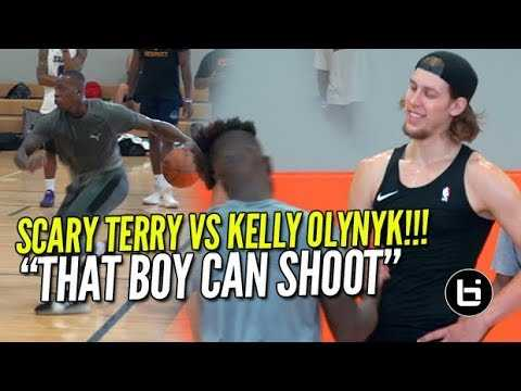 """""""He Can Shoot That Thing!"""" KELLY OLYNYK VS TERRY ROZIER!"""