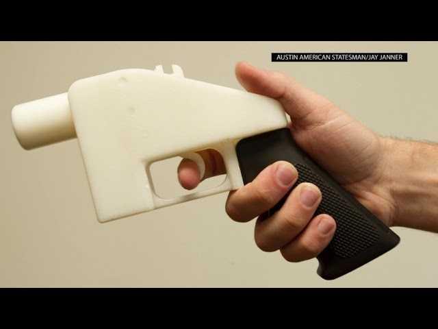 Judge Halts Release of 3D Gun Blueprints