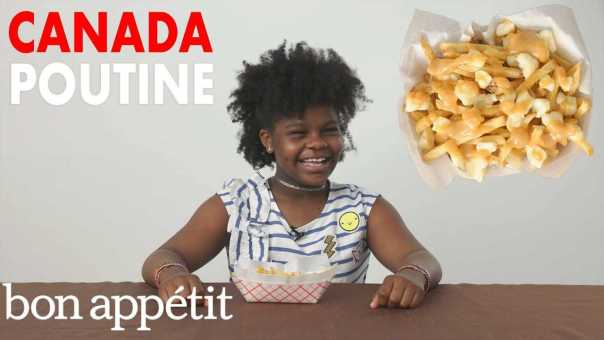Kids Try Potato Dishes From Around the World   Bon Appétit