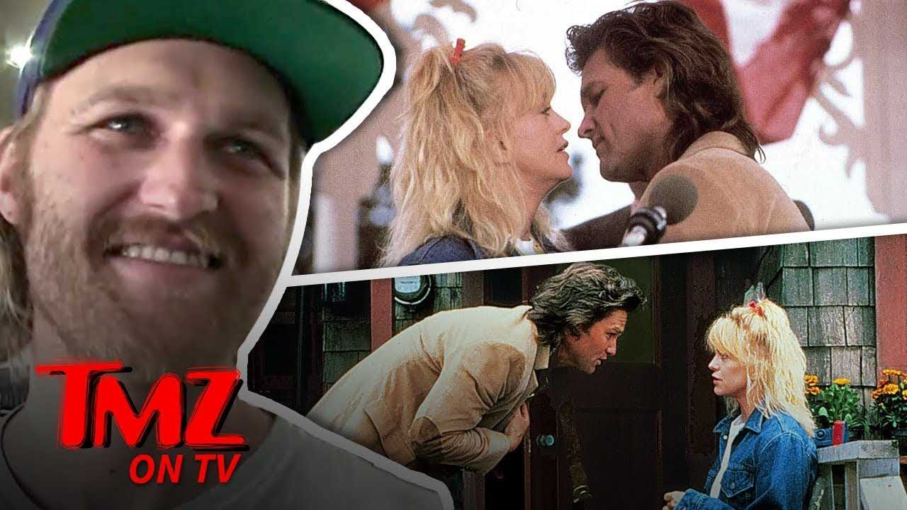 Kurt Russell & Goldie Hawn's Son Says His Paren't Are Totally Normal   TMZ TV