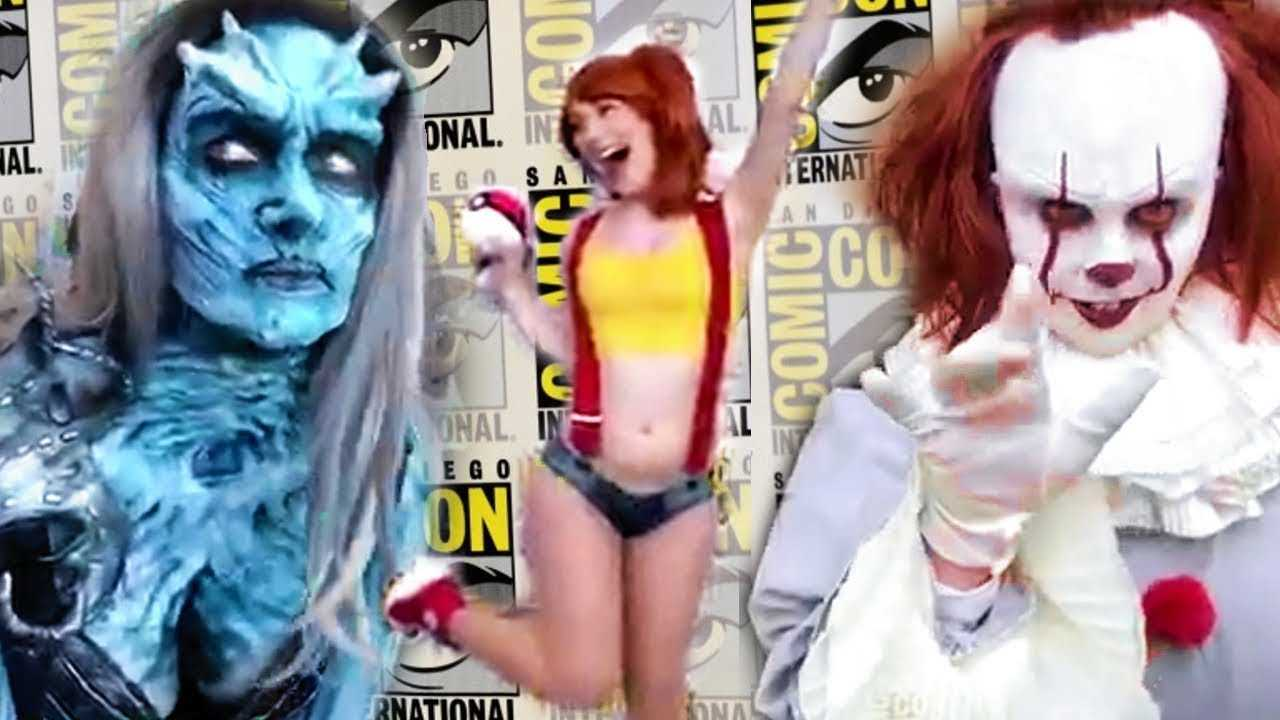 LIVE Comic Con Walkthrough Cosplay and Convention Hall (SDCC 2018)