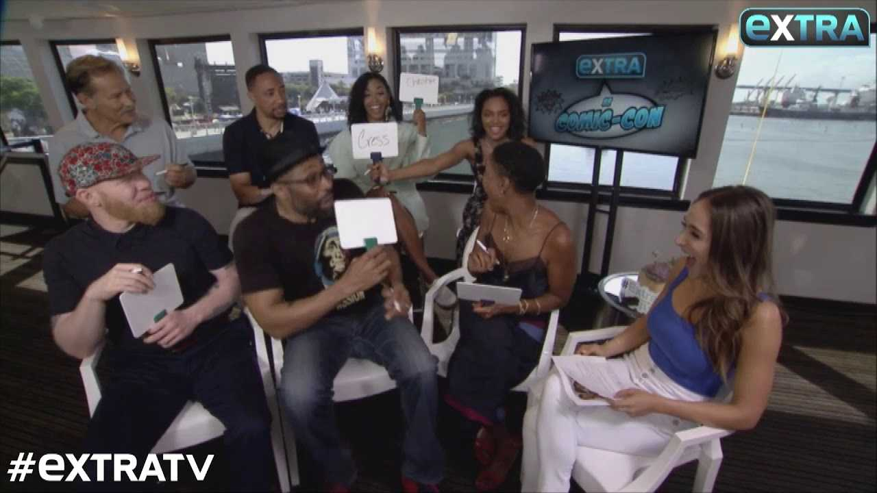 LOL! See the 'Black Lightning' Cast Spill on Each Other at SDCC 2018