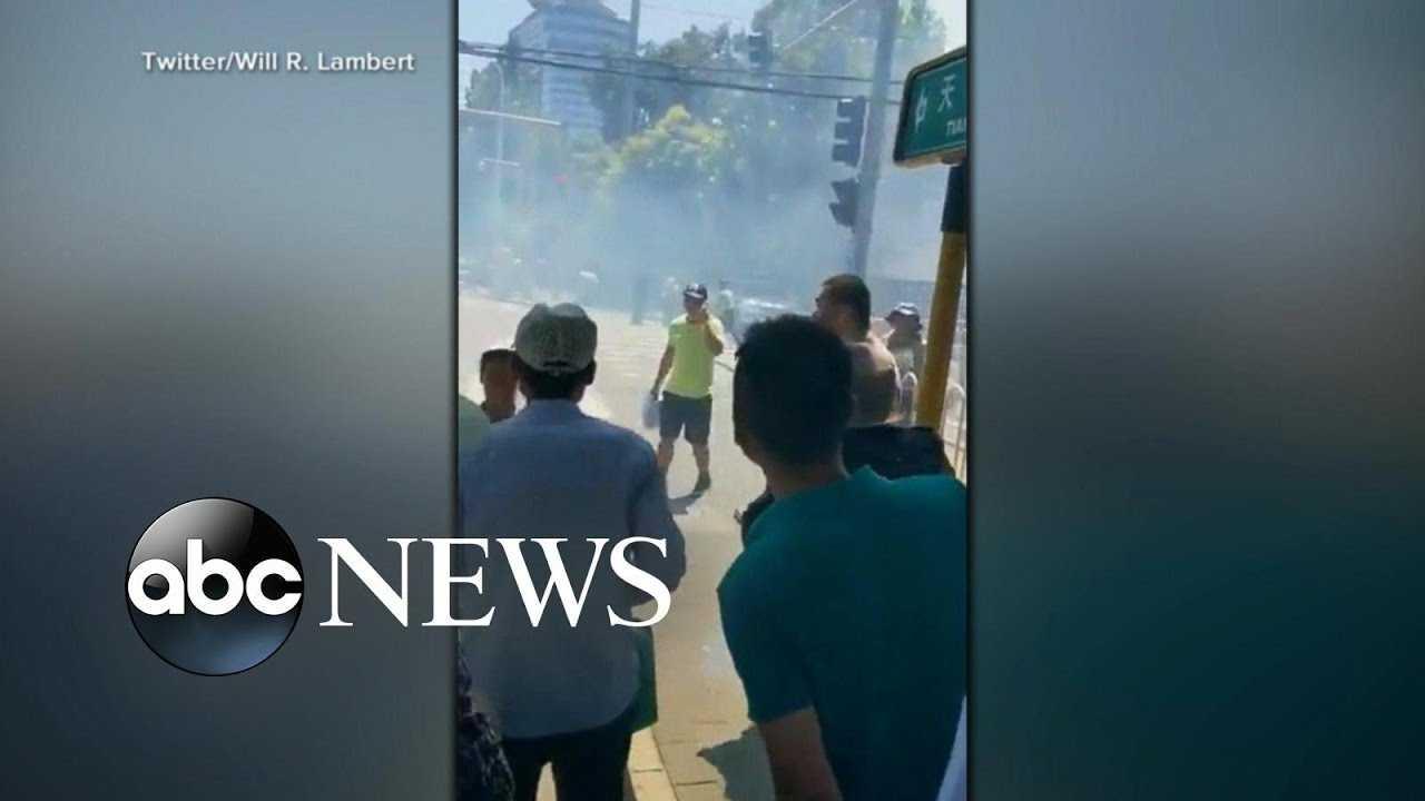 Man detonates small device near US Embassy in Beijing