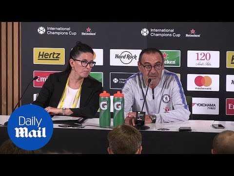 Maurizio Sarri: 'Callum Hudson-Odoi ready for first-team role' - Daily Mail