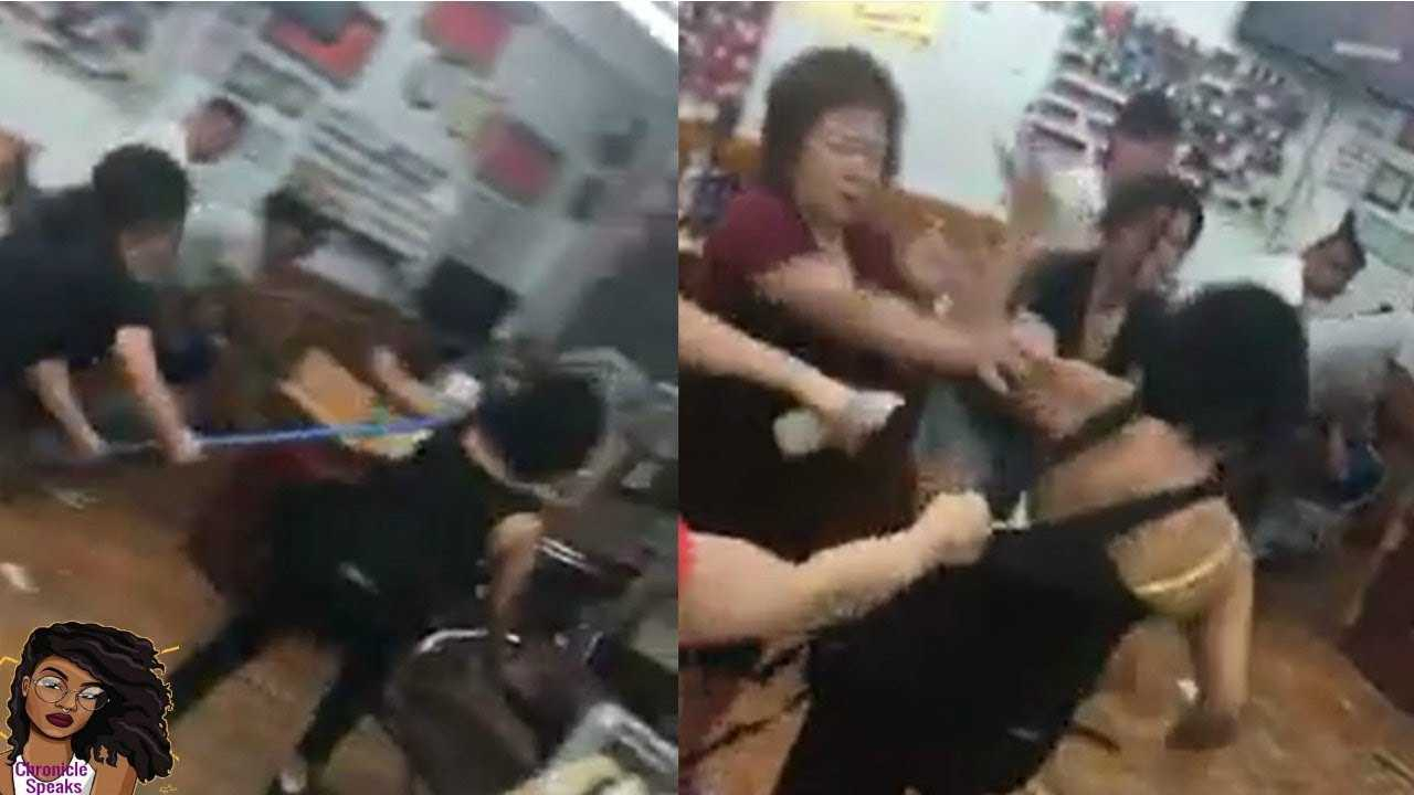 Nail Salon Workers Beat BLACK Customer Over 'Botched' Eyebrow Job
