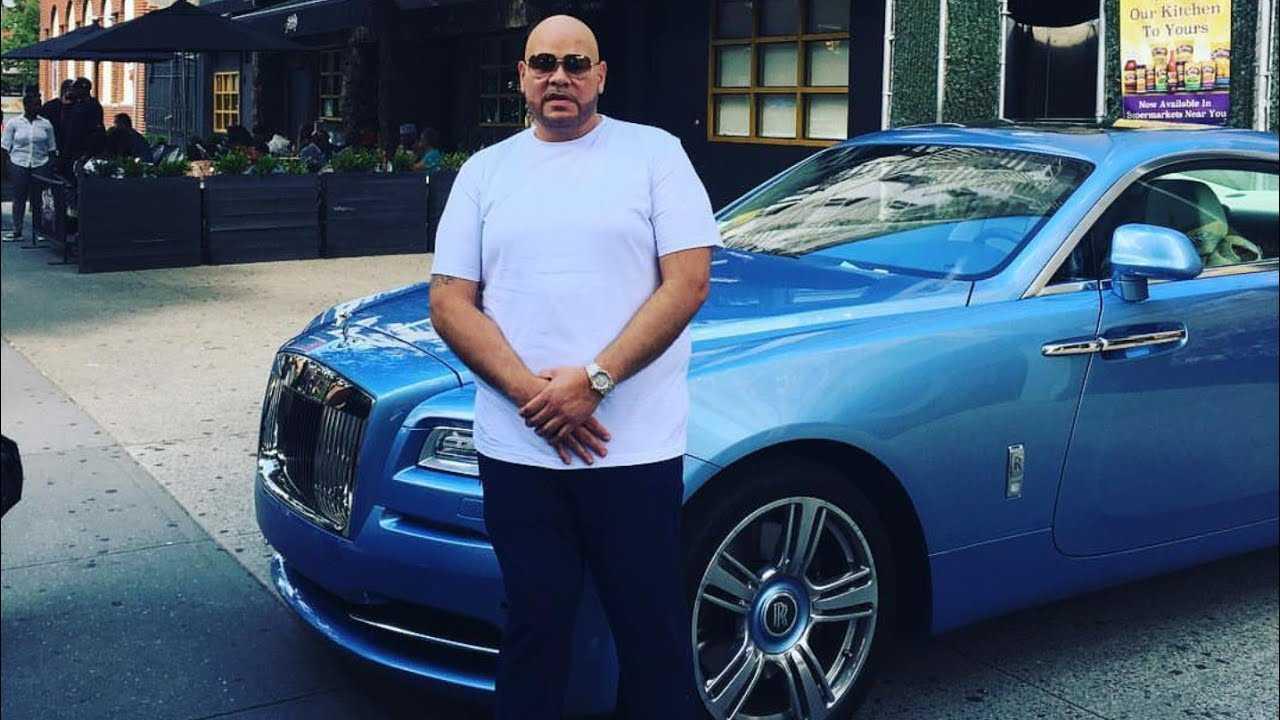 Rapper Fat Joe performance in Boston