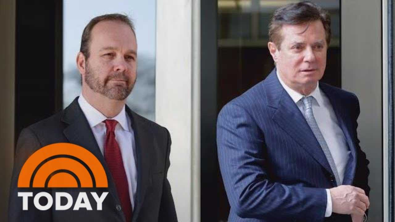 Rick Gates Testifies He Committed To Crimes With Paul Manafort | TODAY