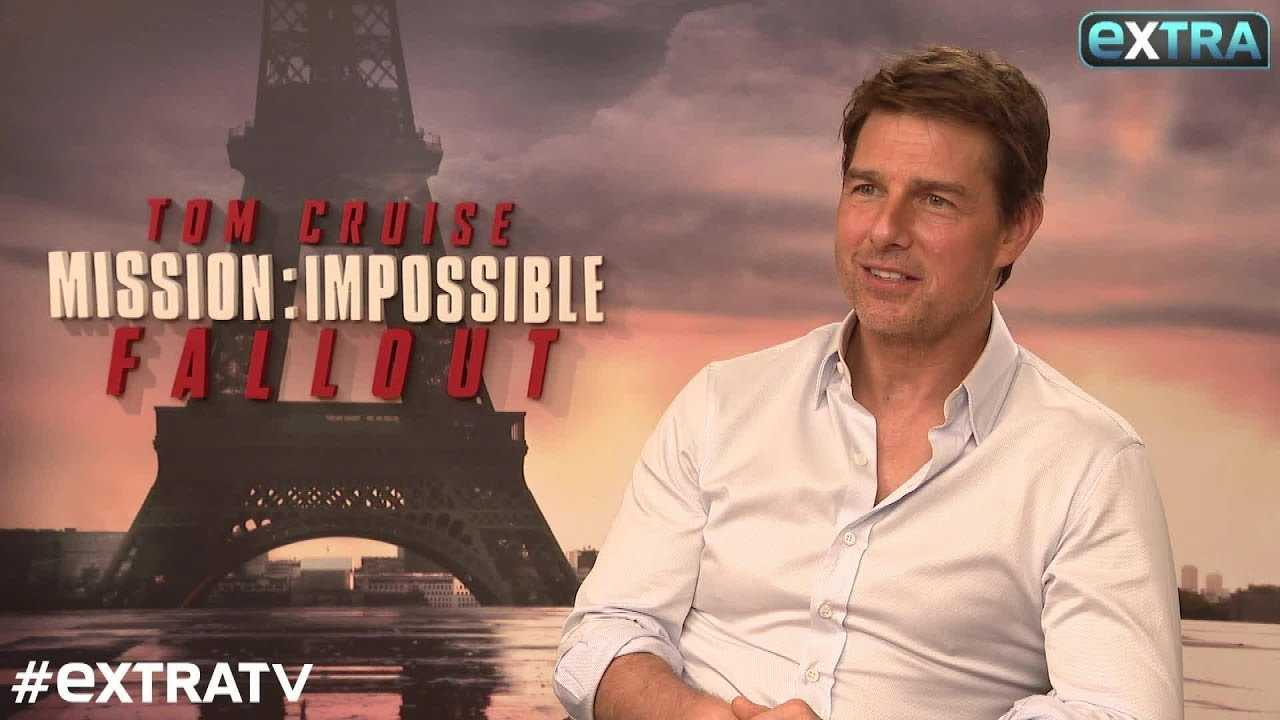 Tom Cruise Reveals How He Likes to Unwind