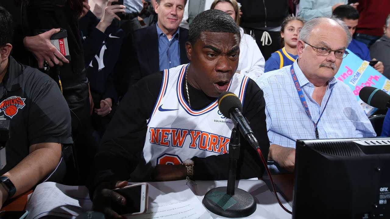 Tracy Morgan Explains Why He Loves the New York Knicks