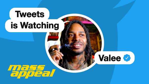 Tweets Is Watching: Valee Reads Tweets About Himself