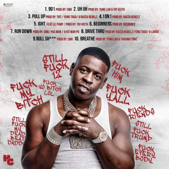 "Blac Youngsta Reveals ""Fu*k Everybody 2"" Cover and Tracklist"