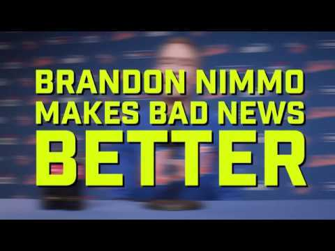 WATCH: Brandon Nimmo makes Bad News better!