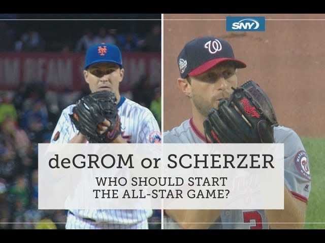 Who should start the All-Star Game: Jacob deGrom or Max Scherzer?