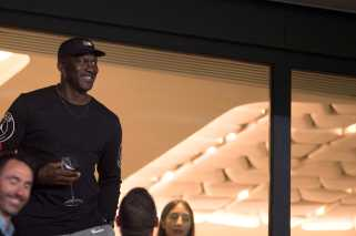 Michael Jordan stops by Paris Saint-Germain in Paris [Photos]