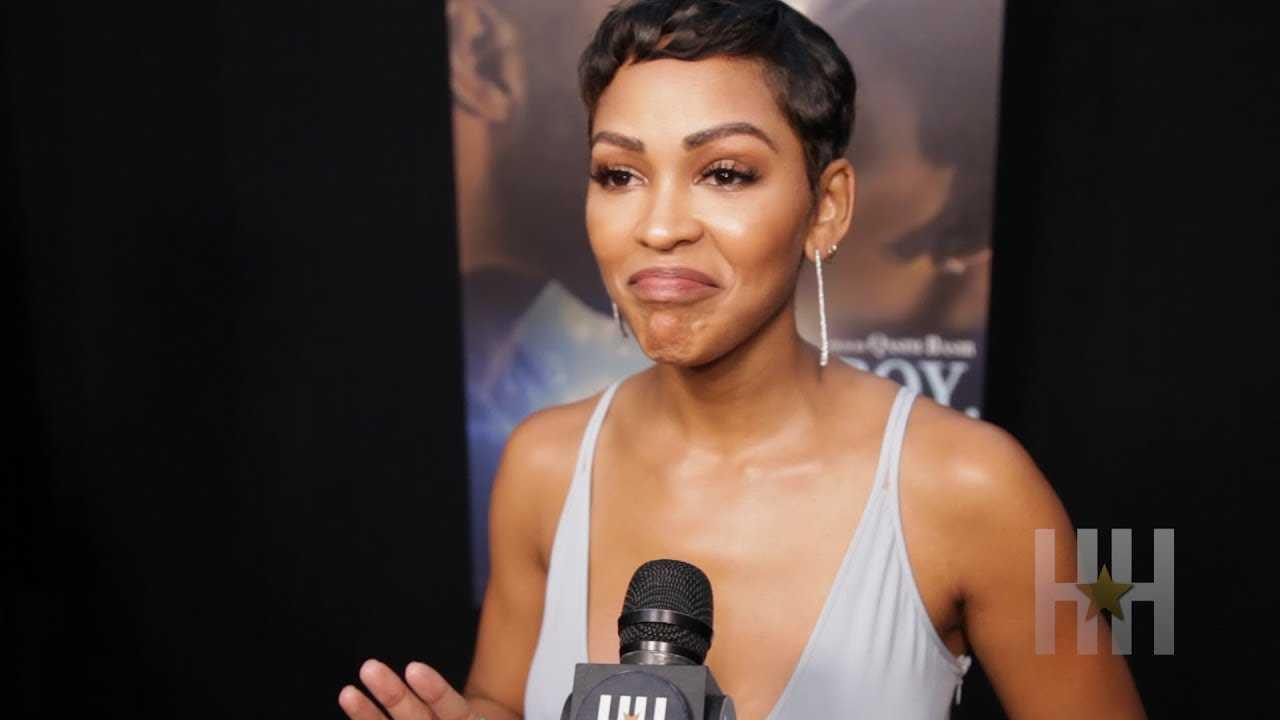 Meagan Good Chimes In On Nicki Vs. Cardi Beef