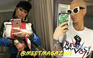 Amber Rose vs Nicki Minaj fight starts here! Amber claims…