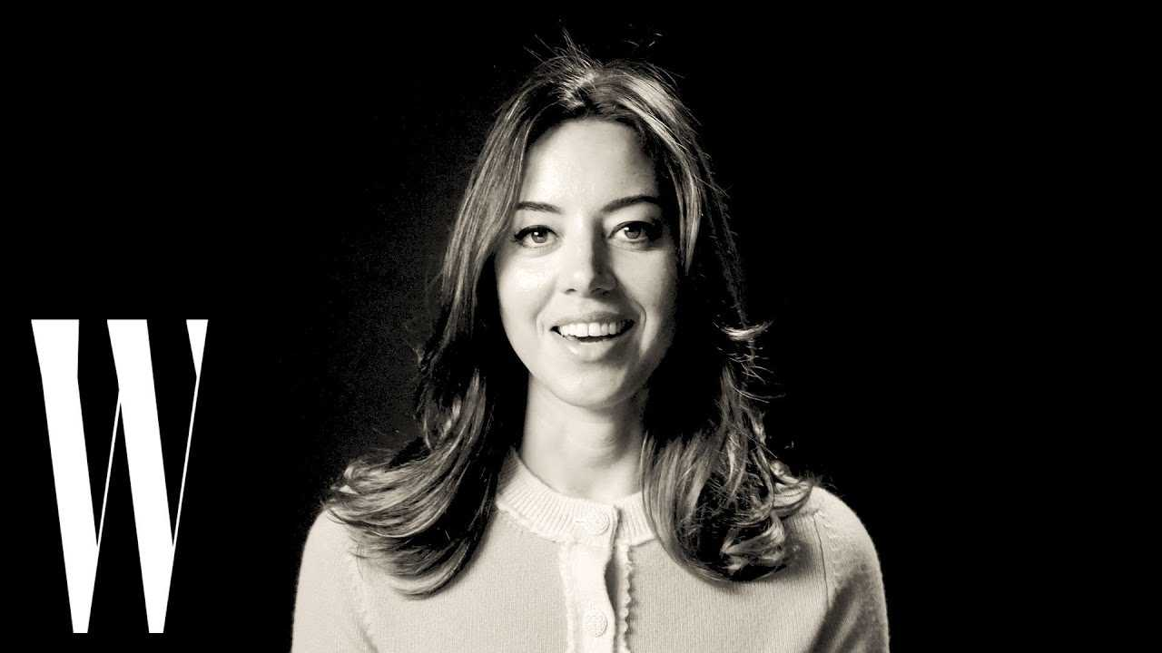 Aubrey Plaza on Sexy Halloween Costumes and Being Cast for 'Parks & Rec' | Screen Tests | W Magazine