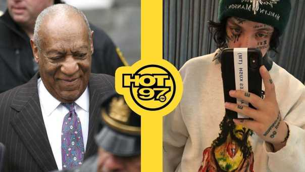 Bill Cosby Goes To Prison, Lil' Xan Rushed To Hospital Due To…Hot Cheetos?