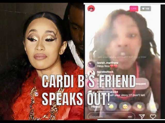 Cardi B'as Friend Goes On IG Live To Explain What Happened During Strip Club Beatdown