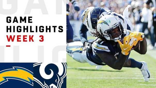 Chargers vs. Rams Week 3 Highlights | NFL 2018