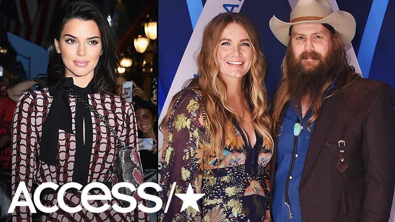 Chris Stapleton's Wife Has The Best Reaction After Kendall Jenner Posts 'Call Me' Pic | Access
