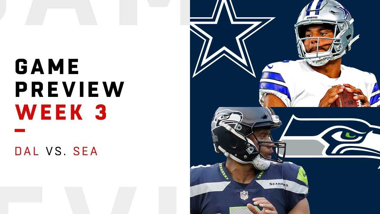 Dallas Cowboys vs. Seattle Seahawks | Week 3 Game Preview | NFL Film Review