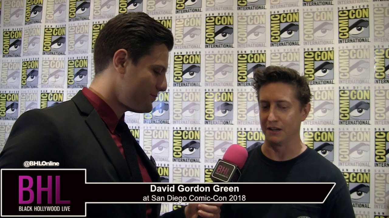 David Gordon Green (Halloween)   San Diego Comic-Con 2018