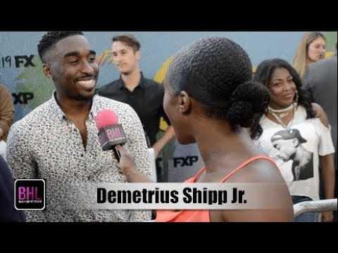 Demetrius Shipp Jr. 'Snowfall' Season 2 Premiere