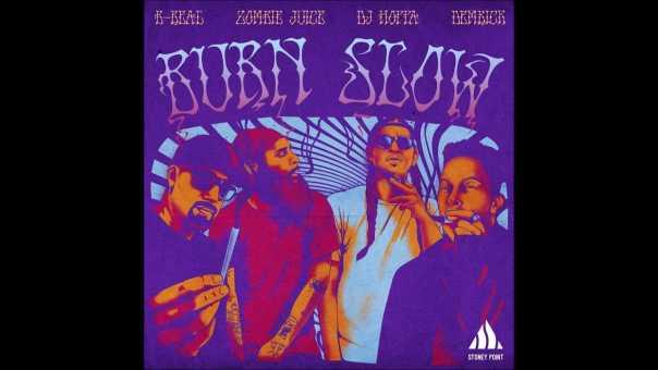 "Demrick & DJ Hoppa feat. Zombie Juice & B-Real – ""Burn Slow"" OFFICIAL VERSION"