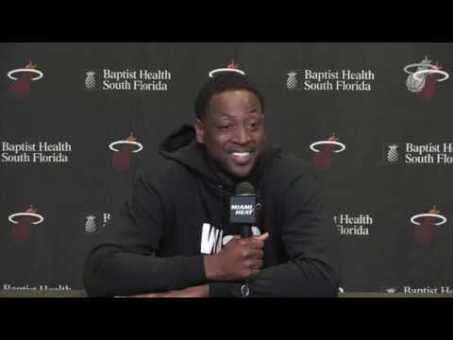 Dwyane Wade's Miami Heat Press Conference | NBA Media Day 2018