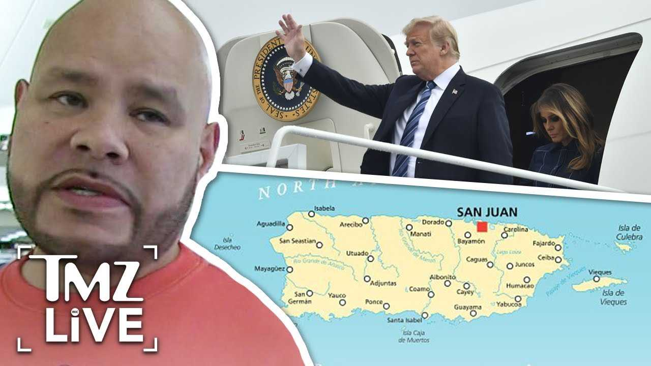 Fat Joe Calls Out Trump Over Puerto Rico Comments | TMZ Live