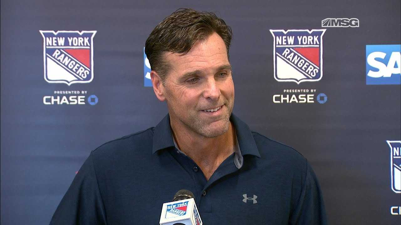 Full David Quinn Press Conference (9/13)   New York Rangers   MSG Networks