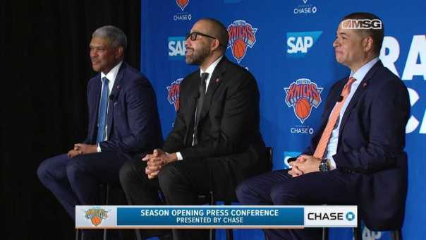 Full Knicks Tip-Off Press Conference With Mills, Perry & Fizdale   MSG Networks