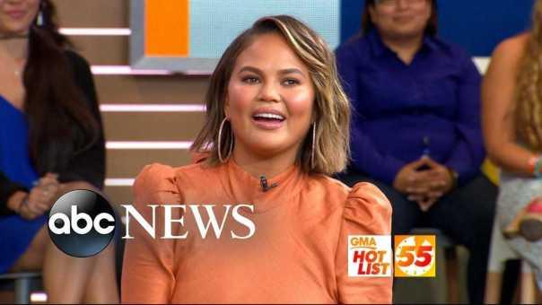 'GMA' Hot List: Chrissy Teigen explains her name confusion