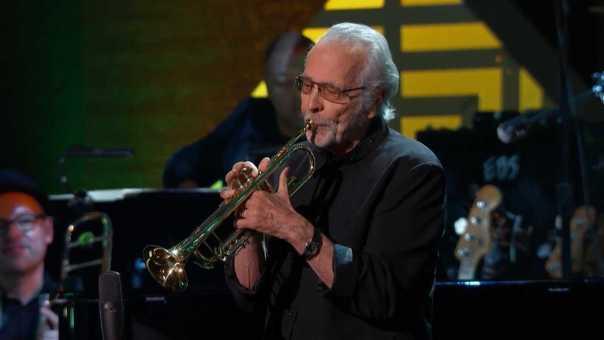 Herb Alpert Honors Drummer Hal Blaine on 'GRAMMY Salute to Music Legends'