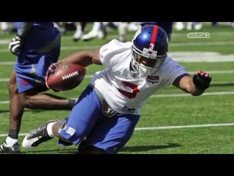 How Victor Cruz Got Discovered by the New York Giants