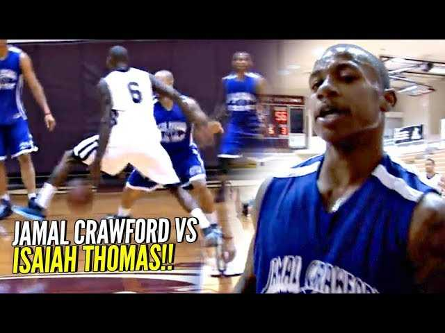 Isaiah Thomas vs Jamal Crawford!!! 75 Points Combined In Showdown of The Handles!!