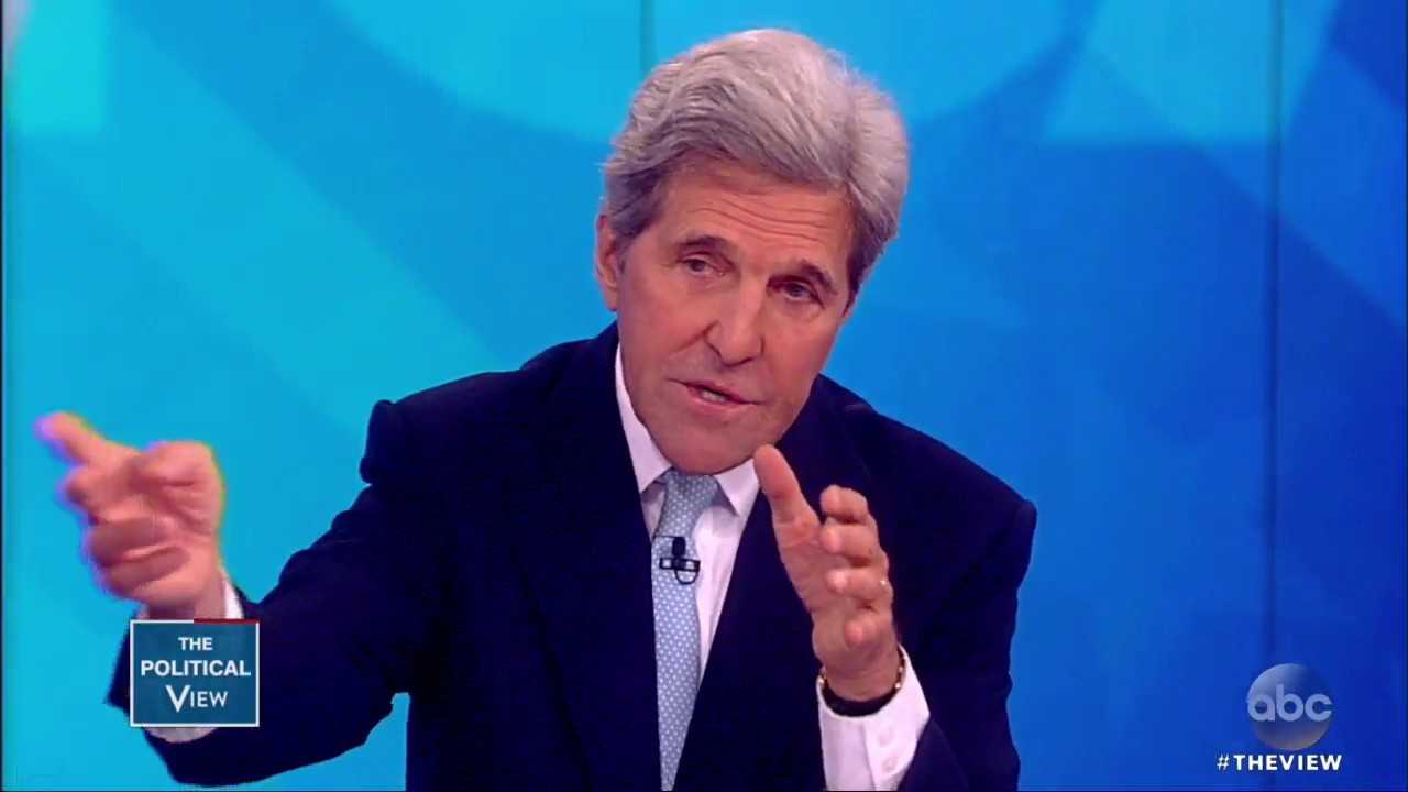 John Kerry On Whether He'll Run In 2020, Trump Backing Out Of Iran Deal   The View