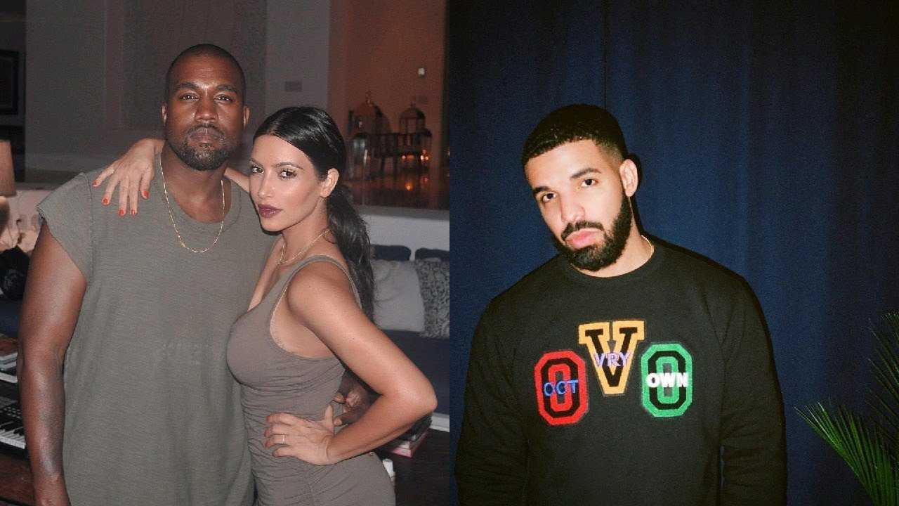 kanye West calls out Drake and Nick Cannon for speaking on Kim Kardashian