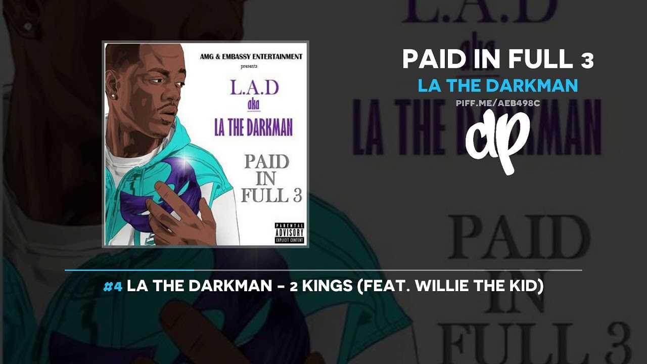 LA The Darkman - Paid In Full 3 (FULL MIXTAPE)