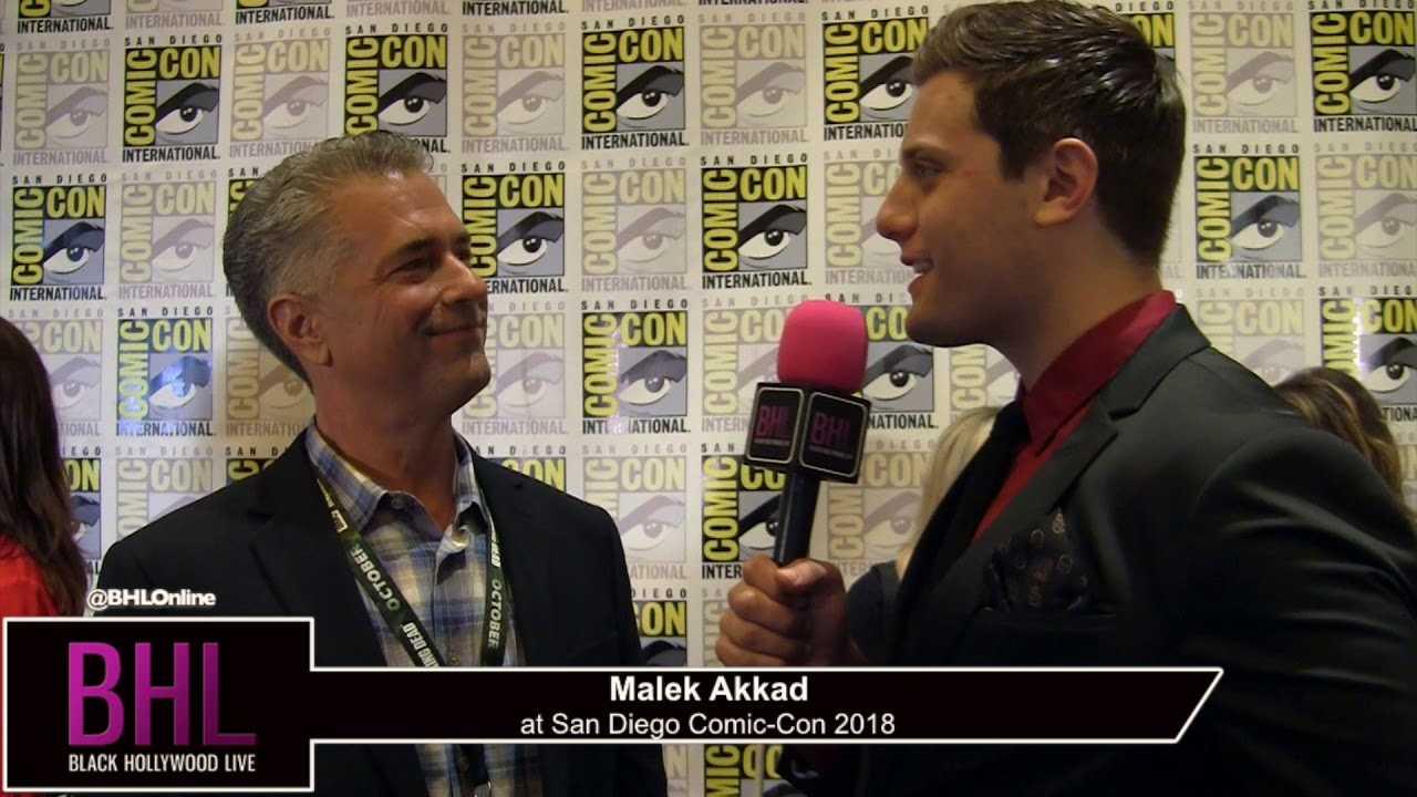 Malek Akkad (Halloween) | San Diego Comic-Con 2018
