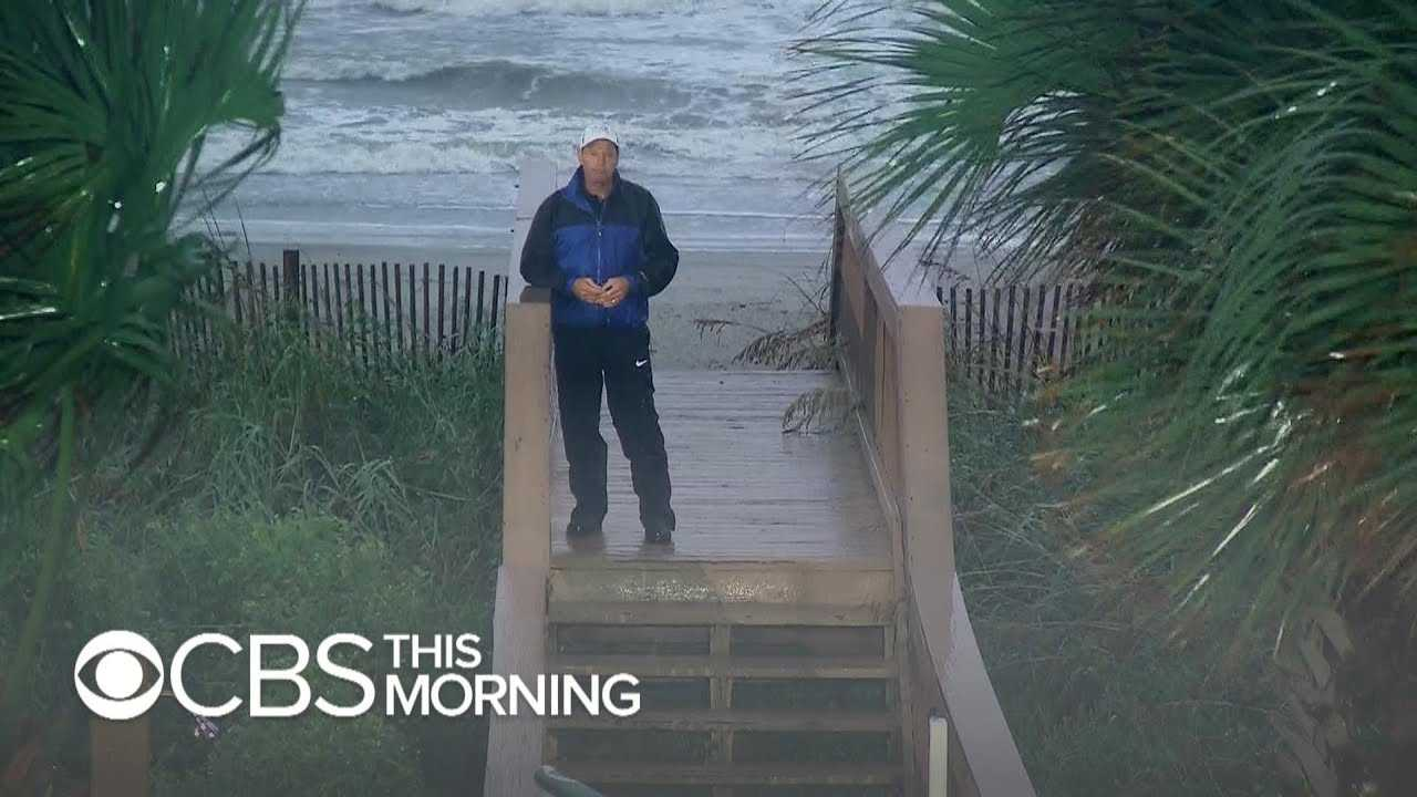 Myrtle Beach braces for storm surge from Florence