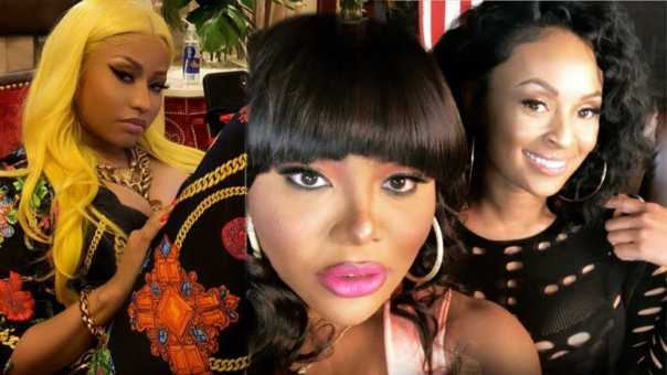 Nicki Minaj gets dragged by the Queen's Court w/ TS Madison