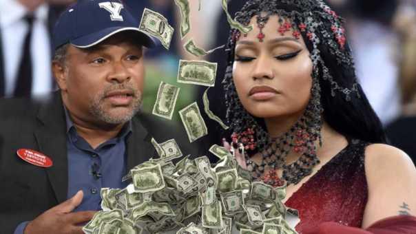 Nicki Minaj sends Geoffrey Owens ,000 & he gave the check away